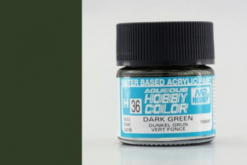 H36-dunkelgrün, glänzend, Acryl, 10 ml