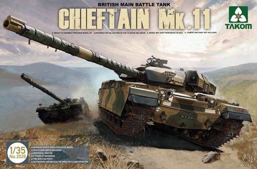 brit. Main Battle Tank Chieftain Mk.11