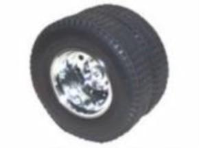 Tamiya-Original-Kunststofffelgen, für Hinterachse