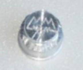 MM-Alu Radmutter für Vorderradfelgen (Wedico) mit Gewinde M4