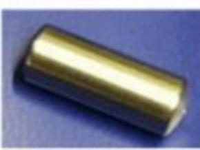 Druckluftkessel aus Alu, 21 mm rund x 55 mm lang