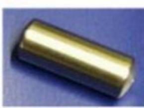 Druckluftkessel aus Alu, 15 mm rund x 25 mm lang