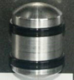 Druckluftkessel aus Alu, 20 mm rund x 30 mm lang