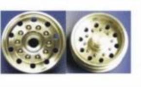 MM-Alufelgensatz für Tamiya-2Achser, mit Rundloch
