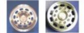 MM-Alufelgensatz für Wedico-2Achser, mit Langloch