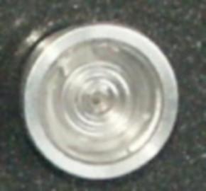 Lampenhalterung aus Aluminium, für Wedico-Gläser