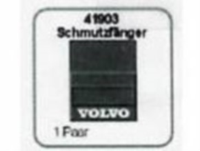 Schmutzfänger 1/14-1/16 Volvo