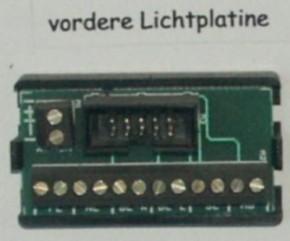 Lichtplatine vorn 7,2V für Lichtanlage XE+SE