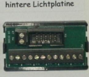 Lichtplatine hinten 7,2V für Lichtanlage XE+SE