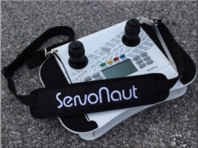 Gurt für Handsender-Pult für HS 12, schwarz mit gesticktem Servonaut-Logo