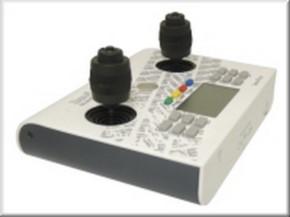 Handsender 12 Kanal, 2,4 GHz, weiß-anthrazit mit 3-D-Knüppeln