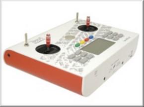 Handsender 12 Kanal, 2,4 GHz, weiß-rot