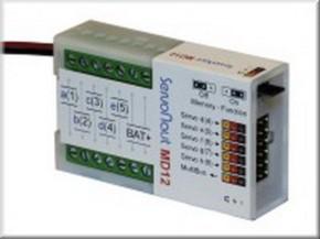 Servonaut MD12 universeller Multi-Decoder mit Schalt- und Servoausgängen