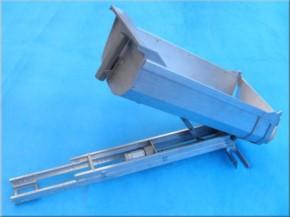 Komplettbausatz Sandmaster-Rundmulde für Tamiya, 370 mm lang