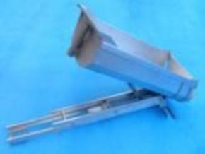 Komplettbausatz für Sandmaster-Rundmulde für Tamiya, 430 mm lang