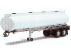 Komplettbausatz Tank-Auflieger, oval, weiß