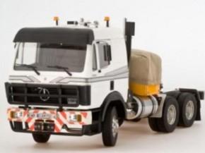 Mercedes 3850 Fahrerhaus, weiß