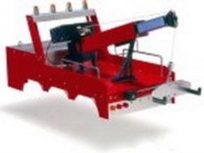Kranaufbau US-Version, rot, für 4-Achs-FG