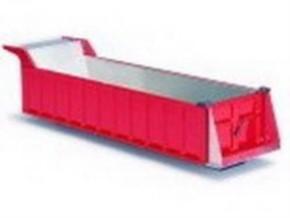 Mulden-Aufbau 2-Achs Auflieger, rot