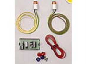 Rundum-Warnleuchten 1 Stück mit Elektrik