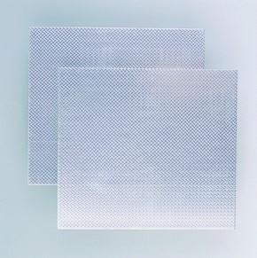 Alu-Riffelblech  170 x 500 x 1,2 mm