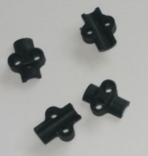 Federträger Kunststoff, 4 Stück für eine Achse
