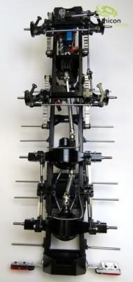 8x4 thicon-Schwerlast-Chassis LIGHT-2 Bausatz