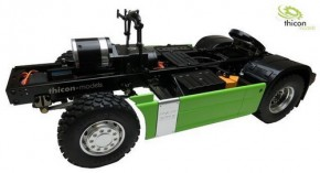 4x4 thicon-Chassis Bausatz Version 2