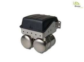 Batteriekasten schmal aus V2A für Tamiya LKW