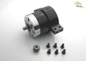 Unterflurgetriebe für 540er Motor Untersetzung 14:1 Metall