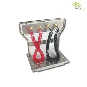 Druckluft-Geräteträger V2A mit Leitungen ScaleClub