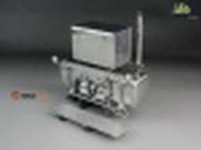 Schwerlastturm mit Scheinwerfer und Box V2A ScaleClub