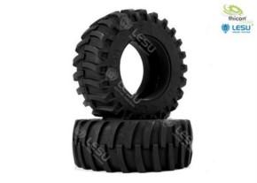 Traktor-Reifen hinten Paar