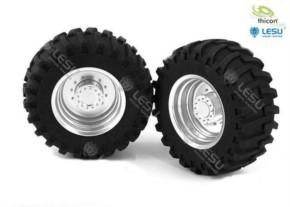 Traktor-Felgen vorne Paar
