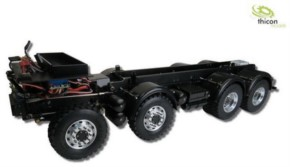 8x8 Gliederzug-Fahrgestell für Tamiya-Cab ohne Aufbau