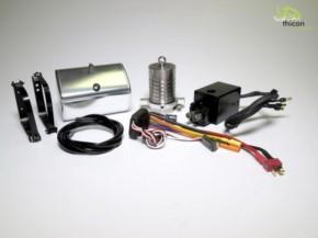 Hydraulik-Set 4-Achs Hinterkipper mit Zylinder und Pumpe