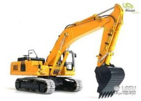 Kettenbagger 36t Bausatz aus Edelstahl mit Hydraul