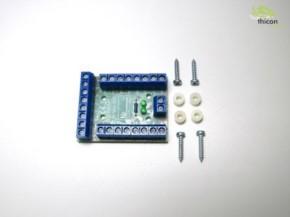 Stromverteiler-Platine 13pol rechteckig