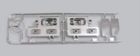 Q-Parts Chromteile zu 56305 + 56307
