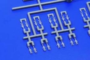 Crew Set, 144 Figuren aus Plastik