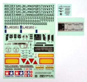 Aufkleber zu MB Actros 3635