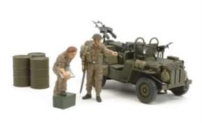 SAS Car 1944 mit Figuren