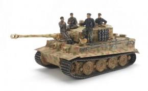 Tiger I mit Besatzung/Kommandant