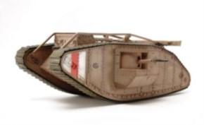brit. Mk. IV Male motorisiert mit Figur