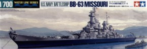 U.S. Battleship Miissouri