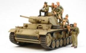 Pz.Kpfw.3 L mit Rommel und DAK Crew