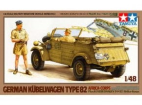 Dt. Kübelwagen Typ 82 Pkw.Kq Afrika