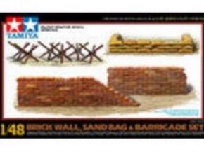 Mauern und Sandsäcke