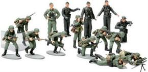 WWII Figuren-Set dt. Infanterie, 15 Figuren
