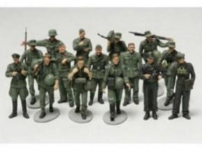 Figuren-Set dt. Infanterie Manöver (15 Figuren)